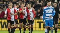 Feyenoord top Dutch league ahead of Man United Europa League clash
