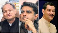 Top Congress leaders huddle for power in Rajasthan