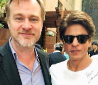 SRK has a fan boy moment with Christopher Nolan