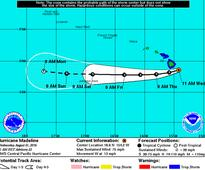Madeline Downgraded To A Still-Dangerous Tropical Storm