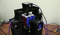 Incredible video shows robot solve Rubik's Cube in just over 1 second