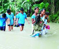 Assam grapples with inundation