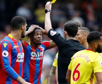 EPL: Zaha denied penalty shouts as Watford and Palace share point