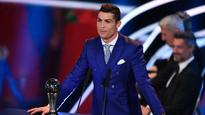 WATCH: Ronaldo rips apart Messi and Barcelona players after winning The Best FIFA Men's Player award
