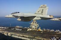 US fighter crashes in Persian Gulf
