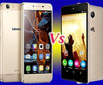 Lenovo Vibe K5 vs Micromax Canvas Fire 5: Features and Specification comparison