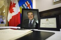 State memorial service Friday for former Alberta premier Jim Prentice
