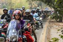 Over 30 Women Bikers Hit Delhi NCR Roads to show up their Potential
