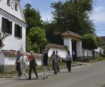 Prince Charles en route to Transylvania