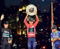 Quintana beats Froome to win Vuelta