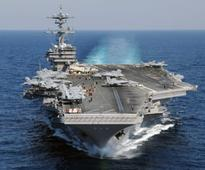 Chaotic Middle East to be without U.S. aircraft carrier...