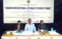 Canon and Beyond: Literary Studies Today Symposium organized at Central University of Odisha