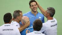 Argentina beat Croatia to clinch maiden Davis...
