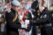 Prince Harry honors US veterans of Iraq, Afghan wars