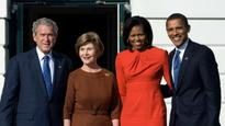 An unlikely friendship: George W Bush shares his friendship with Michelle Obama