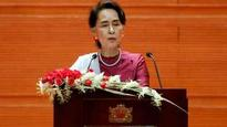 Myanmar's Aung Suu Kyi urges nation to stay united amid 'challenges'