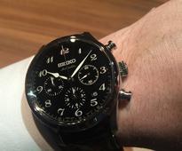 Seiko design guru honoured for 40-year watch career