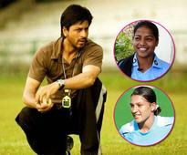 Hockey players Deepika Thakur and Rani Rampal thank Shah Rukh Khan for Chak De! India and request a sequel