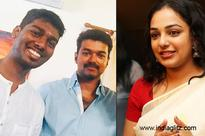 Nithya Menen speaks about working with Vijay and Atlee