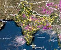 Almost entire India receives monsoon rain