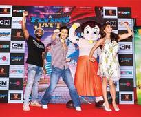 'A Flying Jatt' grooves with Chhota Bheem