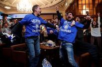 British soccer team Leicester celebrates 5,000-1 title success