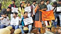ABVP rakes up JNU sedition row, blames leniency for DU mess