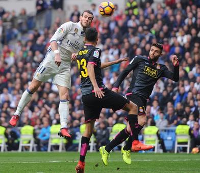 La Liga: Bale scores as Real tighten grip; Gameiro hits five-minute hat-trick