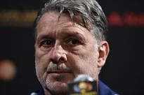We can't lose another final, says Martino Argentina's coach Gerardo Martino speaks at a press conference in East R...