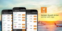 Spicejet, Musafir and Kiwi partner with ixigo for 1-click flight bookings