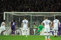 Fiorentina 1-1 Tottenham: Nacer Chadli's first-half penalty enough to hand Spurs away goal advantage in Europa League round of 32
