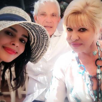 What's Mallika Sherawat doing with Ivana Trump?