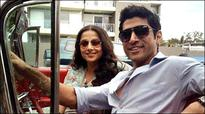 Farhan Akhtar, Vidya Balan shoot for 'Shaadi Ke Side Effects'