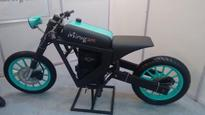 Mirugam, the multi-fuel concept bike, vies for space among superbikes