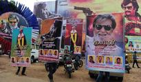 Kabali releases, fans in frenzy