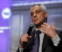 Chicago mayor vows fiscal fix before muni audience