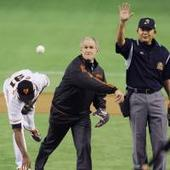 Pondering Trump's future prospects of throwing out first pitches in MLB, NPB