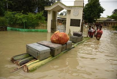 Thousands evacuated from flood-hit districts of Bihar, NE states