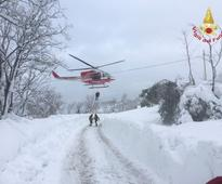 Hopes fade of finding survivors buried under avalanche in Italy