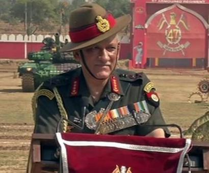 Terrorists frustrated, situation improving in Kashmir: Army chief