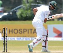 Mahmudullah dropped for second Test