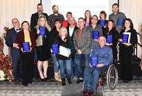 Local businesses recognized
