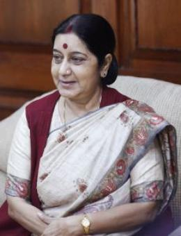 Sushma admitted to Delhi's AIIMS after chest pain, condition stable