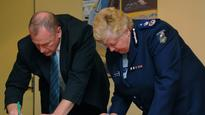 Former Victoria Police chief Christine Nixon warned of dangers in suspending union boss Paul Mullett