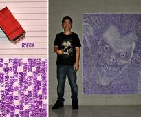 "Filipino ""Pixel Art Wizard"" Creates Incredible Pixelated Portraits Using Any Medium Imaginable"