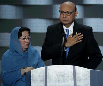 Trump faces backlash for comments about parents of slain soldier