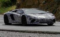 Lamborghini Aventador Facelift Spotted Testing