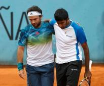 Rohan Bopanna and Florin Mergea fail to defend Madrid Open title