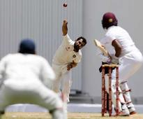 Pacer Mohammed Shami marked his return to Test cricket with four wickets