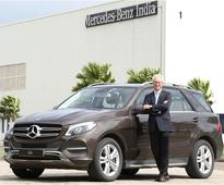Mercedes-Benz Launches GLE400 Petrol at INR 74.90 Lakhs
